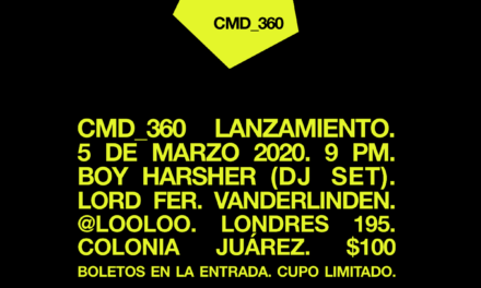 Fiesta de CMD_360 con un DJ set de Boy Harsher