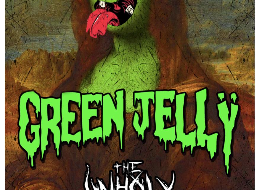 El humor y teatralidad de Green Jellÿ en  Bajo Circuito