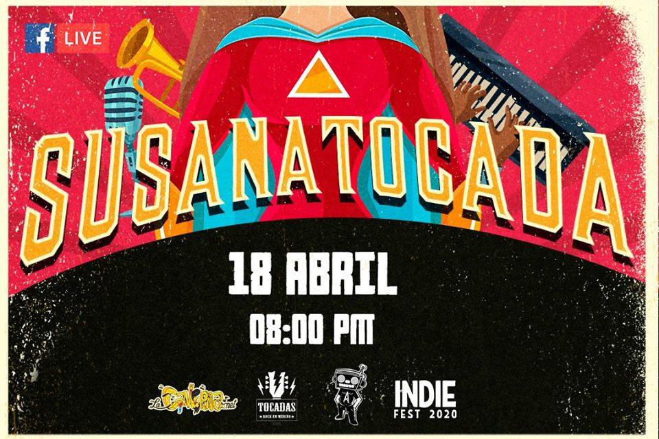 «Susana Tocada», festival musical online