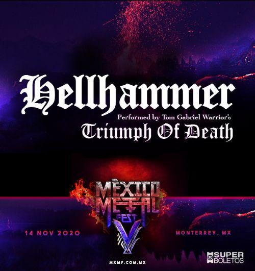 Una banda más se une al México Metal Fest V