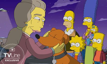 Cate Blanchett en el final de temporada de Los Simpson