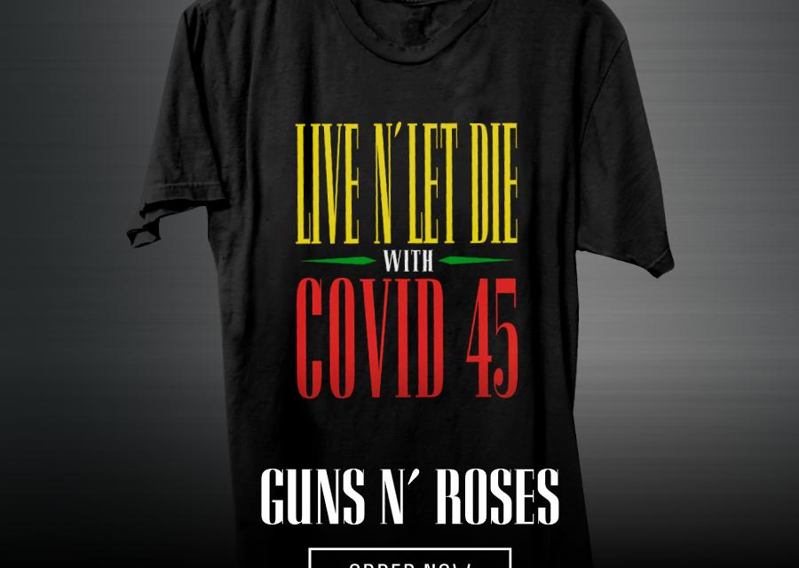 Guns N' Roses vende playera con fines caritativos