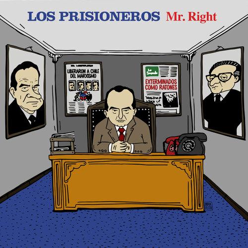 Los Prisioneros presentan «Mr. Right» adelanto de su disco Manzana