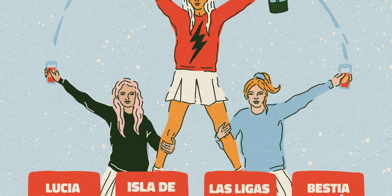 'Conciertos A La Hora Del Vermú' con Las Ligas Menores, Bestia Bebé, Lucia Tacchetti e Isla De Caras