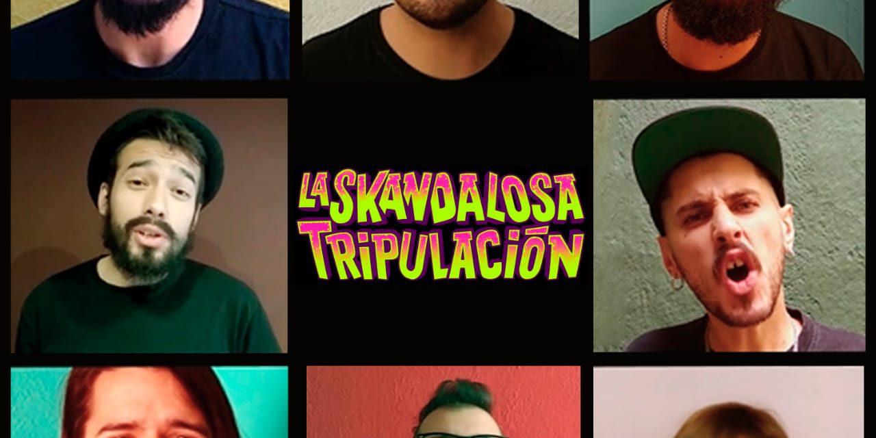 La Skandalosa Tripulación estrena reversión de «Guitarras Blancas»