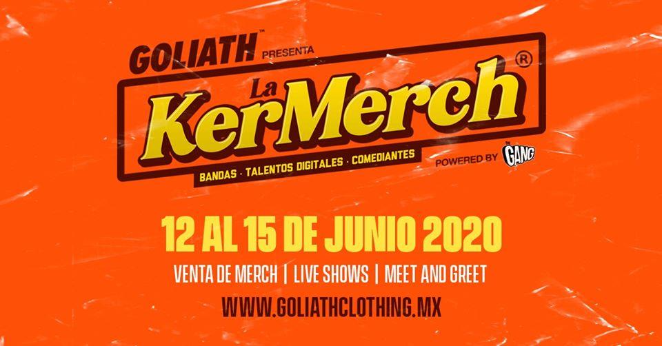 La KerMerch, creado para apoyar a artistas con la venta de su mercancía