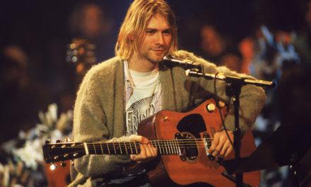 Subastan guitarra de Kurt Cobain usada en el MTV Unplugged