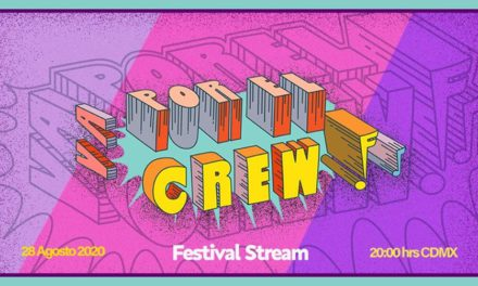 Este es el cartel del show en linea ¡Va por el crew!