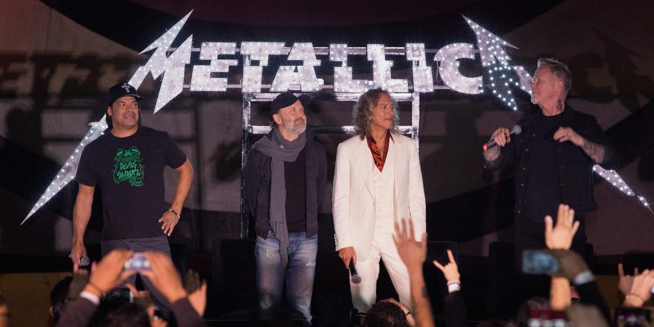 Los streams de Metallica concluyen con concierto en CDMX de 2017