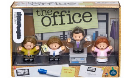 Fisher-Price presenta set de juguetes de The Office