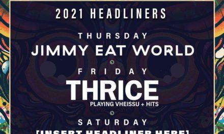 Jimmy Eat World y Thrice encabezarán el 2000 Trees Festival en 2021
