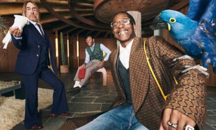 Campaña de Gucci es protagonizada por Iggy Pop, A$AP Rocky, and Tyler, the Creator