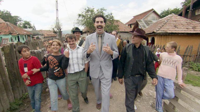 Segunda parte de Borat se estrenará en Amazon Prime
