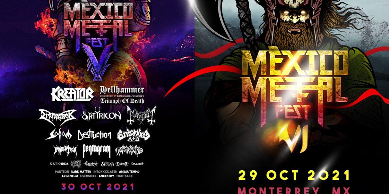 México Metal Fest pospone su quinta edición para 2021