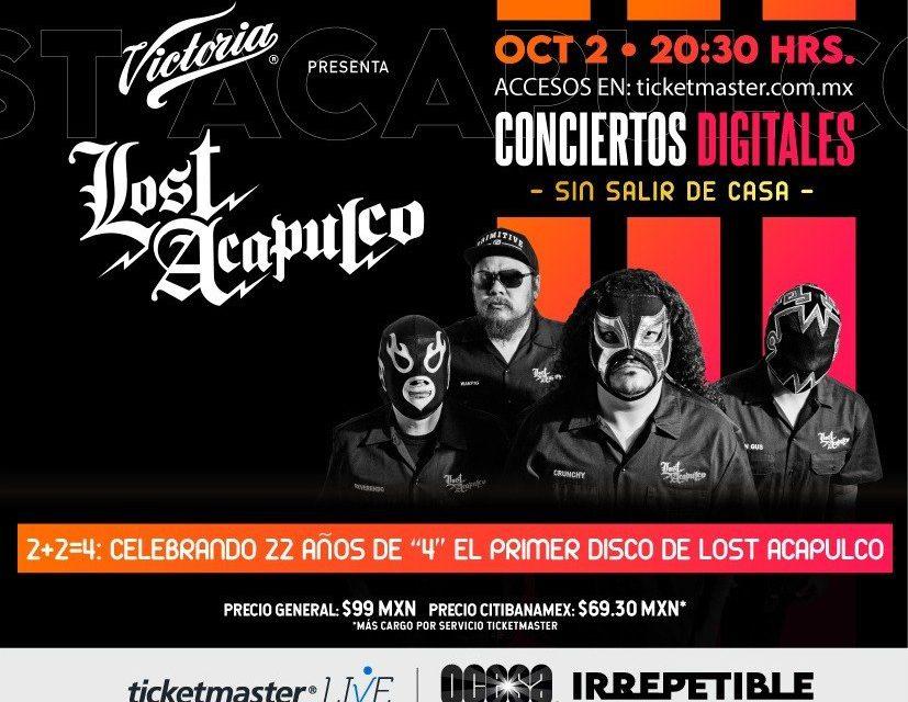Lost Acapulco, 2 + 2 = 4: Celebrando 22 años de 4