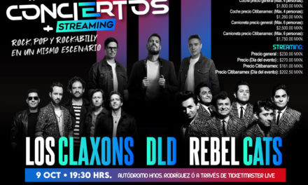Rock, pop y rockabilly en un mismo escenario con DLD,  Los Claxons y Rebel Cats