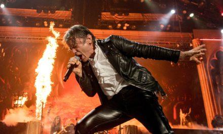 Iron Maiden esta de vuelta en el estudio, dice Bruce Dickinson