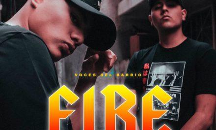 Rosa Pistola presenta «Fire» ft. Voces Del Barrio & Dj Chekesito