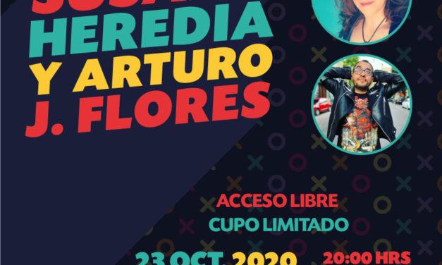 Foro Indie Rocks! presenta: Susana Heredia Y Arturo J. Flores