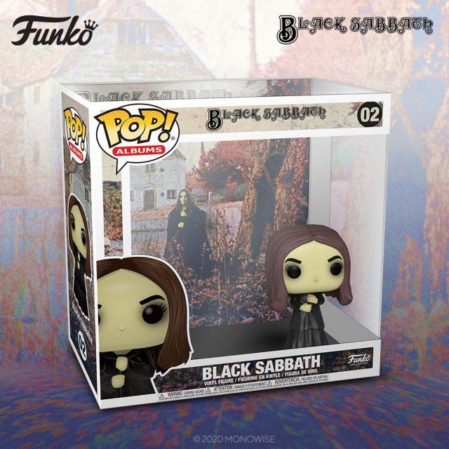 Funko hace figura de portada de álbum de Black Sabbath