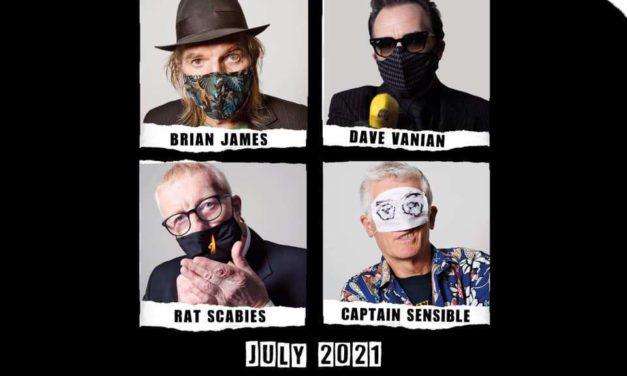 The Damned reunirá su alineación original para girar en 2021
