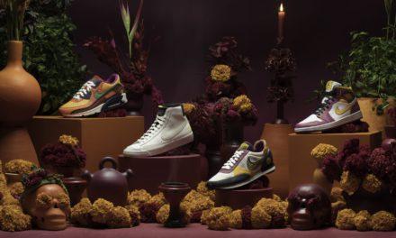 Nike lanza colección inspirada en el Día de Muertos