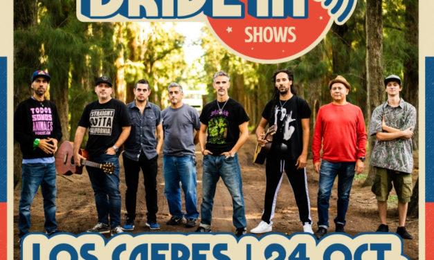 Los Cafres en vivo desde el Autocine Mandarine Park de Buenos Aires