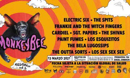 El Monkey Bee Festival Vol. 2 ya tiene cartel completo