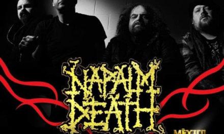 La potencia de Napalm Death presente en el MxMFVI