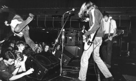 Fotos inéditas de Nirvana de su primera gira por Reino Unido