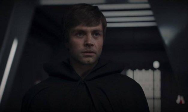Mark Hamill se mira como Skywalker en The Mandalorian