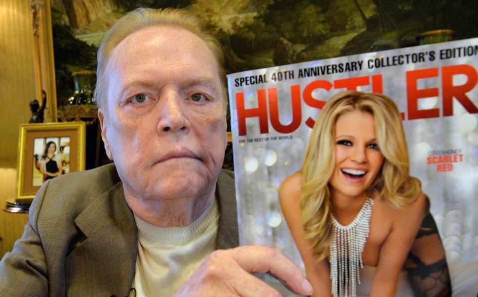 Larry Flynt Magnate de la industria XXX muere a los 78 años