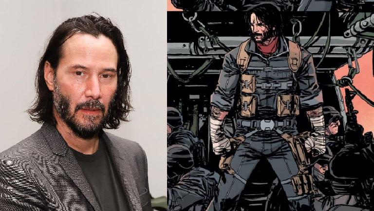 ¡Yei!: Keanu Reeves protagonizará para Netflix el cómic que co-escribió
