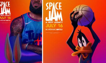 ¡Vayan agendando!: Revelan la fecha de estreno y nuevos pósters de Space Jam 2