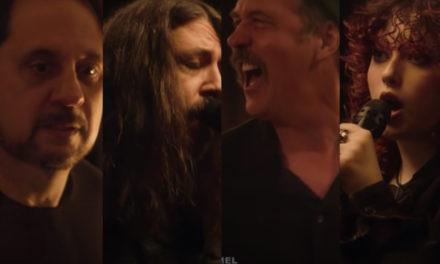 Dave Grohl toca en el escenario junto a su hija Violet, su antiguo compañero Krist Novoselic y Dave Lombardo