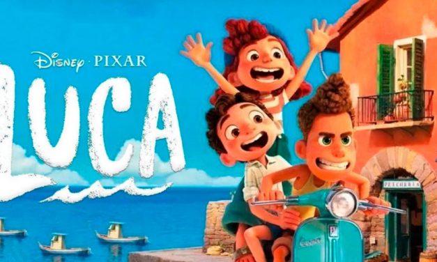 Disney presenta el tráiler oficial de Luca, la nueva película de Pixar