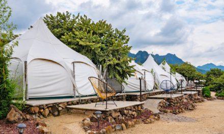 Glamping: Acampar en la naturaleza nunca había sido tan cómodo