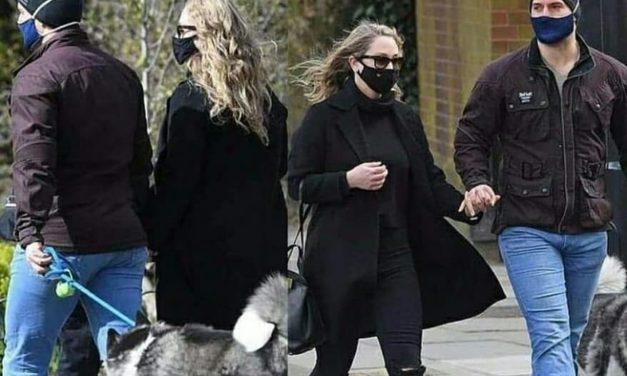Duren: Captan a Henry Cavill de paseo con su novia