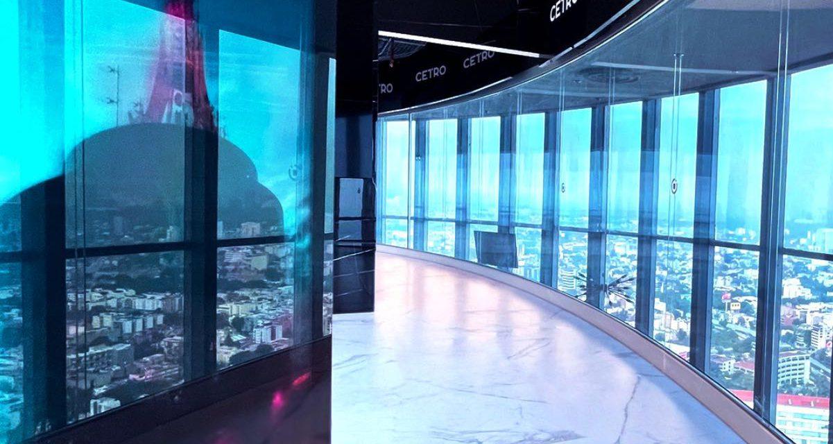 Descubre CETRO: Un espectacular mirador en CDMX con realidad aumentada.