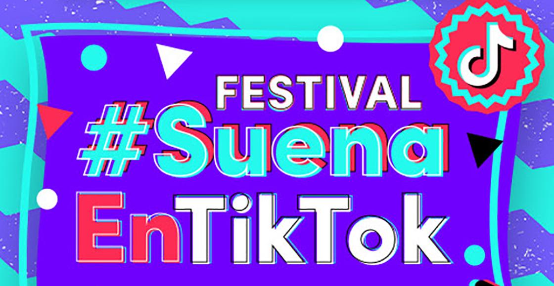 ¿Fan de Tik Tok?: Llega #SuenaEnTikTok el primer Festival Musical elaborado por una red social en Latinoamérica