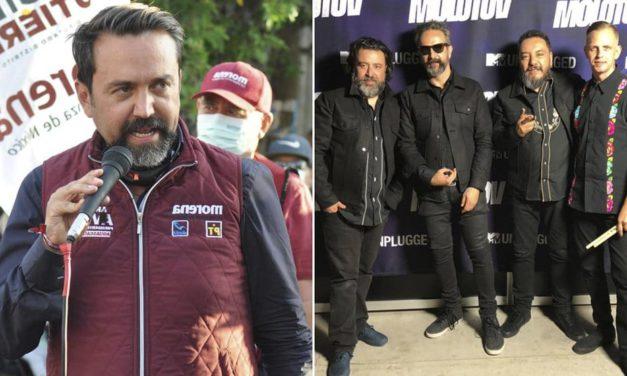 Molotov planea demandar a Morena por hacer propaganda con la canción Voto Latino