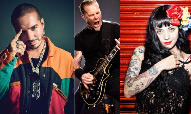 J Balvin, Mon Laferte y Ha*Ash son considerados por Metallica para su nuevo disco