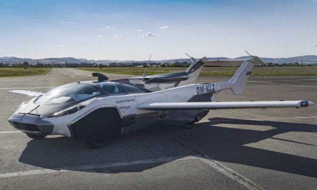El futuro es hoy, ¿Oíste viejo?: AirCar, el primer coche volador que logró viajar entre dos ciudades