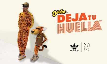 Cheetos y Bad Bunny se unen para lanzar de la mano de Adidas una colección exclusiva