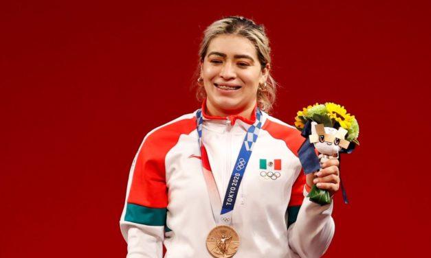 Los 14 años que tuvieron que pasar para que Aremi Fuentes se colgara una presea olímpica