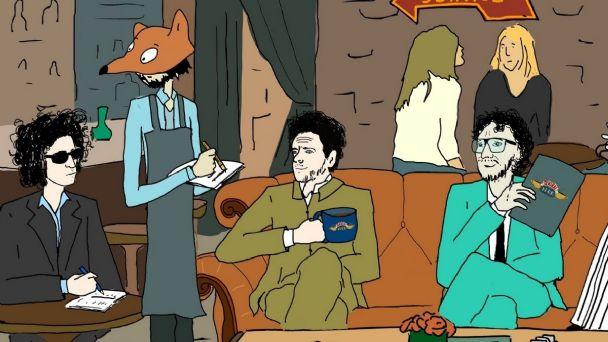 Échale un ojo a «Animaciones Salvajes», la serie animada con Gustavo Cerati, Fito Páez y Andrés Calamaro