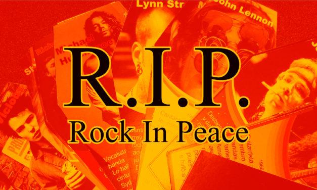 R.I.P. (Rock In Peace) Los Muertos Del Rock (2/16) *Brian Jones* *Buddy Holly* *Cliff Burton*