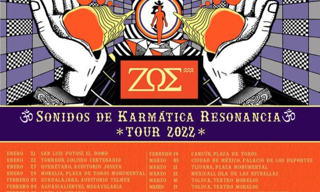 ¡TODO lo que tienes que saber del Tour de Zoé en el 2022! – Estarán por todo México